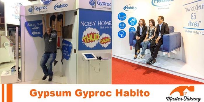 Gypsum Gyproc habito