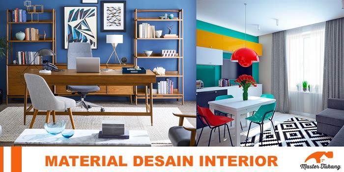 material Desain interior