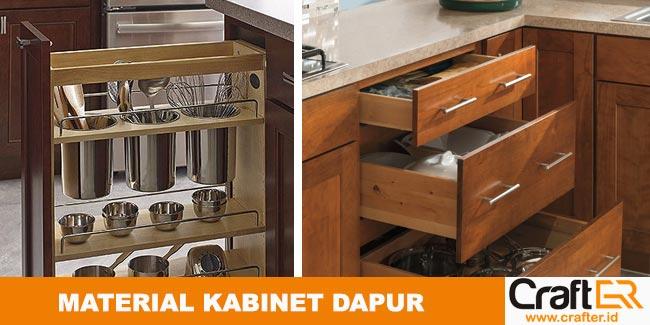 Memilih material dapur kitchenset