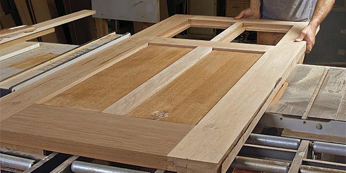 biaya pembuatan pintu kayu