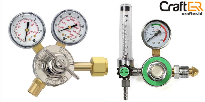 regulator gas mesin las