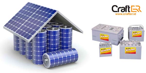 baterai listrik tenaga surya