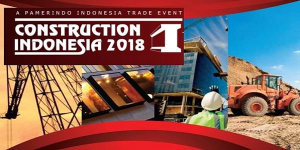 pameran konstruksi indonesia 2018