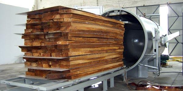 pengeringan kayu dengan vacuum