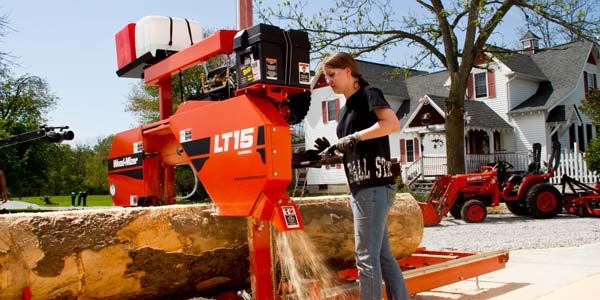mesin sawmill portable wood mizer