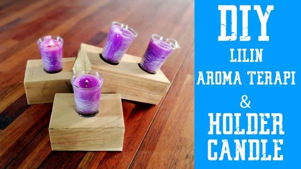 video membuat lilin aromaterapi