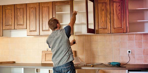 bikin kitchen set sendiri