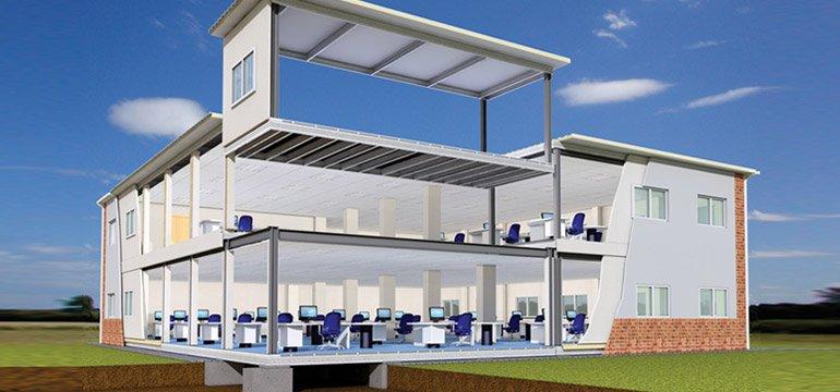 bangunan modular