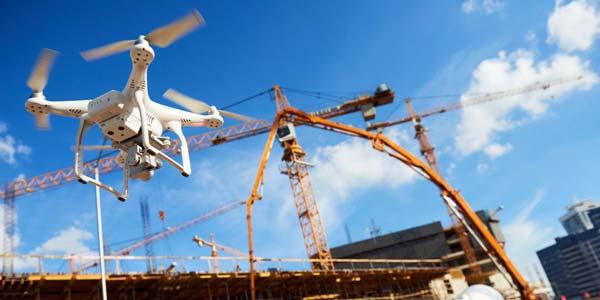 drone untuk proyek konstruksi