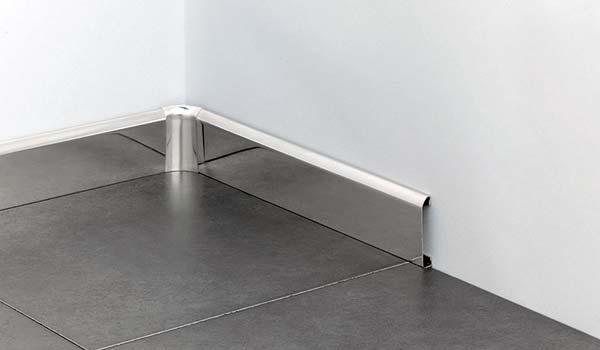 lis lantai stainless steel