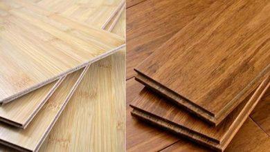 Lantai bambu mempunyai penampilan eksotik