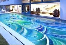 desain lantai kolam renang