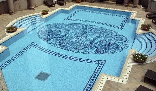 motif lantai kolam