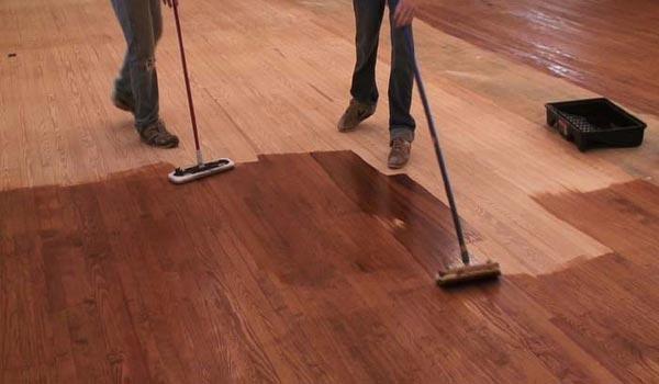 Tahapan Finishing ulang lantai kayu