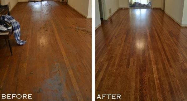 cara finishing ulang lantai kayu