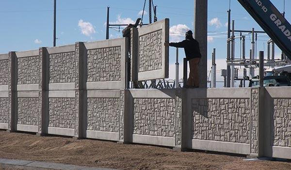 harga pagar beton panel