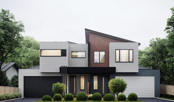 Prinsip Dasar Desain Eksterior Bangunan material dan warna