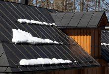 atap metal rumah hunian